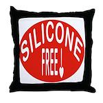 Silicone Free Throw Pillow
