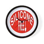 Silicone Free Wall Clock