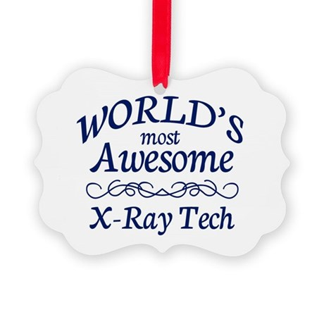 X-Ray Tech Picture Ornament