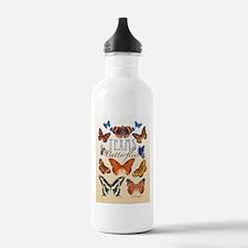 TEXAS Butterflies Water Bottle