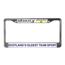 Shinty License Plate Frame