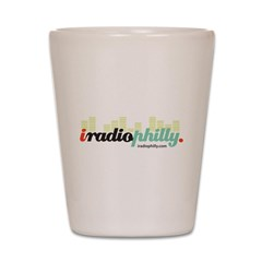iradiophilly Shot Glass