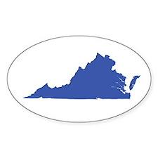 Virginia's Gone Blue! Bumper Stickers