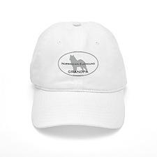 Norwegian Elkhound GRANDPA Baseball Cap
