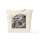 Raccoon Custom Tote Bag