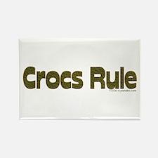 Crocs Rule Rectangle Magnet