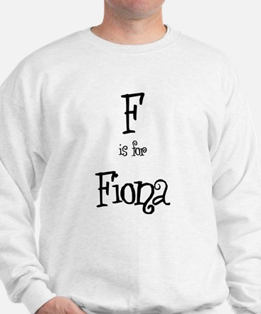 F Is For Fiona Sweater