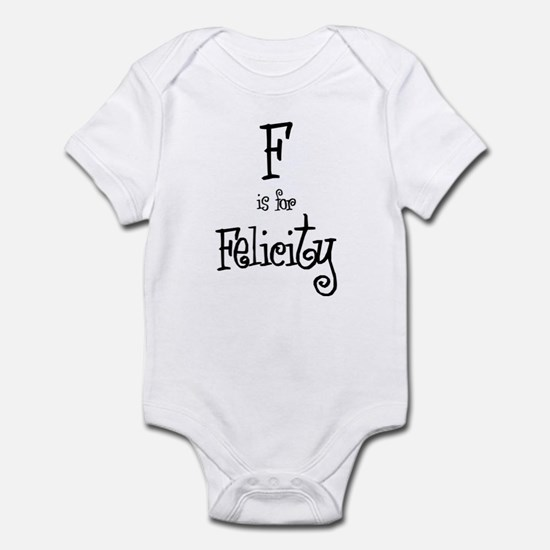 F Is For Felicity Infant Creeper
