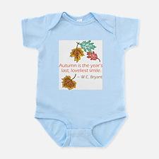 Autumn's Last Smile Infant Bodysuit