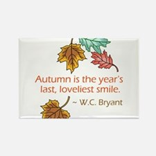 Autumn's Last Smile Rectangle Magnet