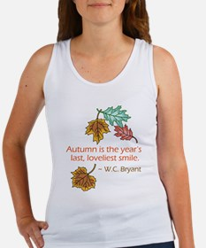 Autumn's Last Smile Women's Tank Top