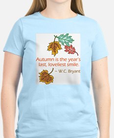 Autumn's Last Smile T-Shirt