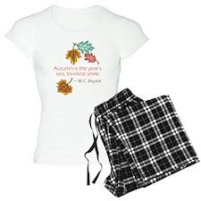 Autumn's Last Smile Pajamas