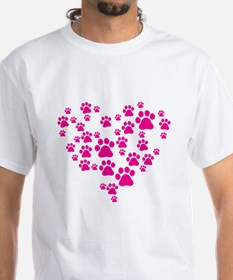 Heart of Paw Prints Shirt