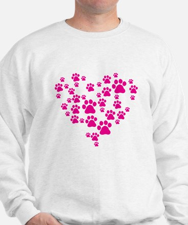 Heart of Paw Prints Sweater