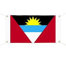Flag of Antigua and Barbuda Banner
