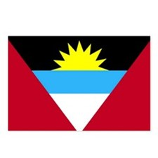 Flag of Antigua and Barbuda Postcards (Package of