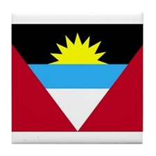 Flag of Antigua and Barbuda Tile Coaster