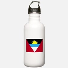 Flag of Antigua and Barbuda Water Bottle