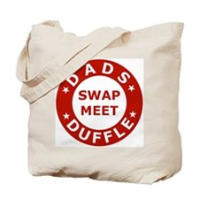Red Dads Swapmeet Duffle Canvas Tote Bag