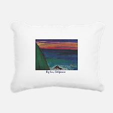 Big Sur 700.jpg Rectangular Canvas Pillow