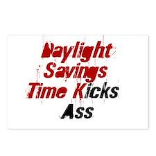 Daylight Savings Time Kicks A Postcards (Package o