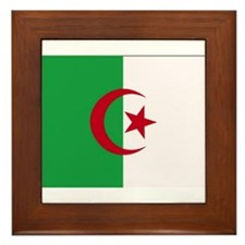 Flag of Algeria Framed Tile