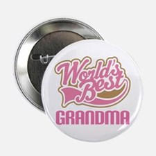 "Worlds Best Grandma 2.25"" Button"