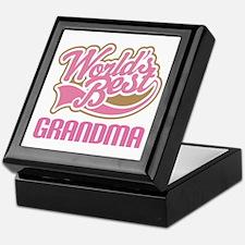 Worlds Best Grandma Keepsake Box