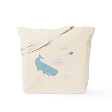 Hitchhiker Whale & Petunia Tote Bag