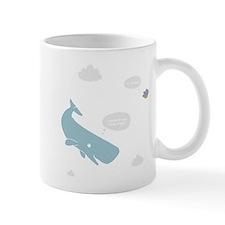 Hitchhiker Whale & Petunia Small Mug