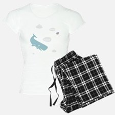 Hitchhiker Whale & Petunia Pajamas