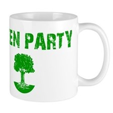 Green Party Small Mug