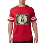 Boston Terrier Collage Mens Football Shirt