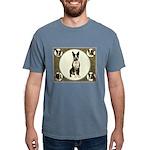 Boston Terrier Collage Mens Comfort Colors Shirt