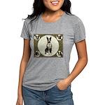 Boston Terrier Collage Womens Tri-blend T-Shirt