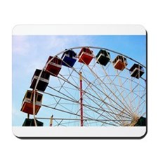 Seaside Big Wheel Mousepad