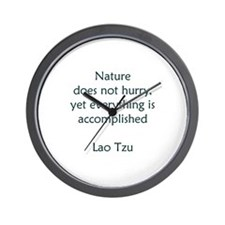 Cool Quips and quotes Wall Clock