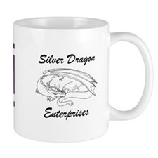TCCM Retro Silver Dragon Mug