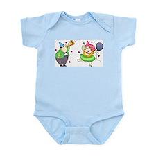 Party Couple Infant Bodysuit