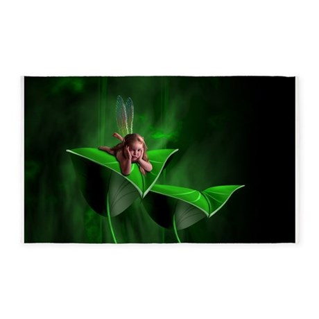 Leaf Fairy 3'x5' Area Rug