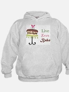 Live Love Bake Hoodie
