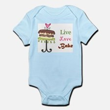 Live Love Bake Infant Bodysuit