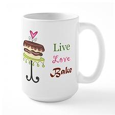 Live Love Bake Mug