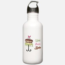 Live Love Bake Water Bottle