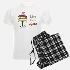 Live Love Bake Pajamas