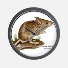 House Mouse Wall Clock