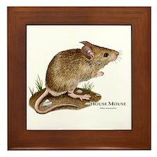House Mouse Framed Tile