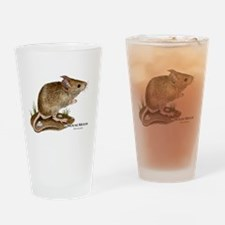 House Mouse Drinking Glass