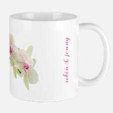 Personalised Orchid Mug